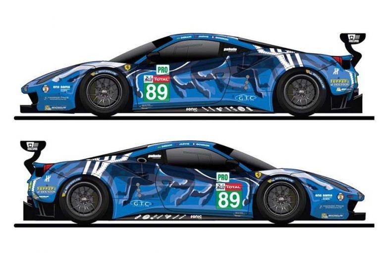 ル・マン/WEC | ル・マン24時間:北米フェラーリの雄がイメージ刷新! 驚きのマシンカラーリングを発表