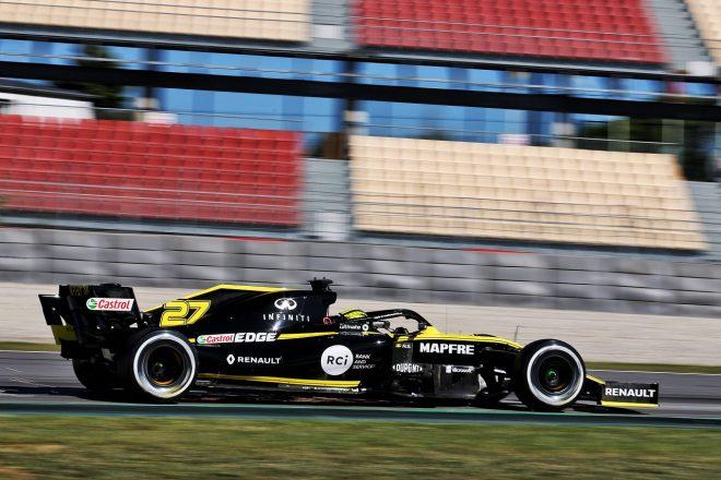 2019年F1バルセロナ・インシーズンテスト1日目 ニコ・ヒュルケンベルグ(ルノー)