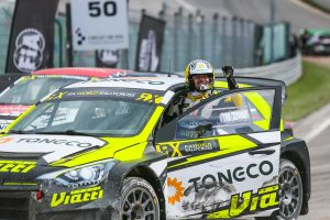 ラリー/WRC | キャリア初優勝を飾ったティマー・ティミジヤノフ(ヒュンダイi20 WRX)