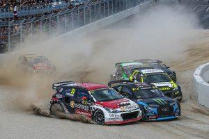 ラリー/WRC | ファイナルの1コーナー、トップの2台が交錯した隙を突いて3番手のティミジヤノフがトップへ