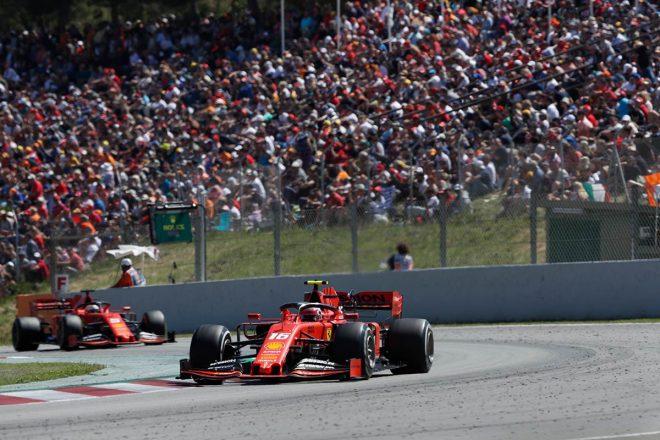 2019年F1第5戦スペインGP シャルル・ルクレール(フェラーリ)