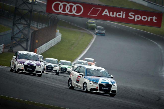 Audi A1 Fun Cup第1戦の様子