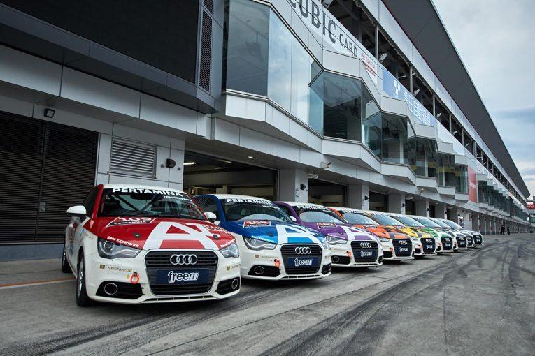 国内レース他 | Hitotsuyama GmbH 2019富士チャンピオンレースシリーズ Audi A1 Fun Cup第1戦レポート