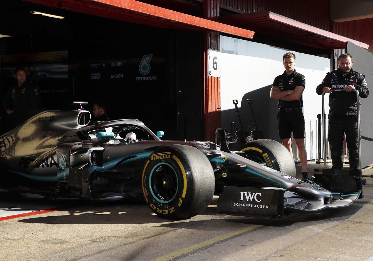 2019年F1バルセロナ・インシーズンテスト2日目 ニキータ・マゼピン(メルセデス)
