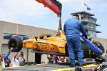 海外レース他 | 第103回インディ500デイ2:アロンソが最初の壁の餌食に。トップはニューガーデン。琢磨はレースセットアップに専念