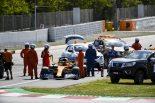 2019年F1バルセロナ・インシーズンテスト2日目 セルジオ・セッテ・カマラ(マクラーレン)がトラブルでストップ