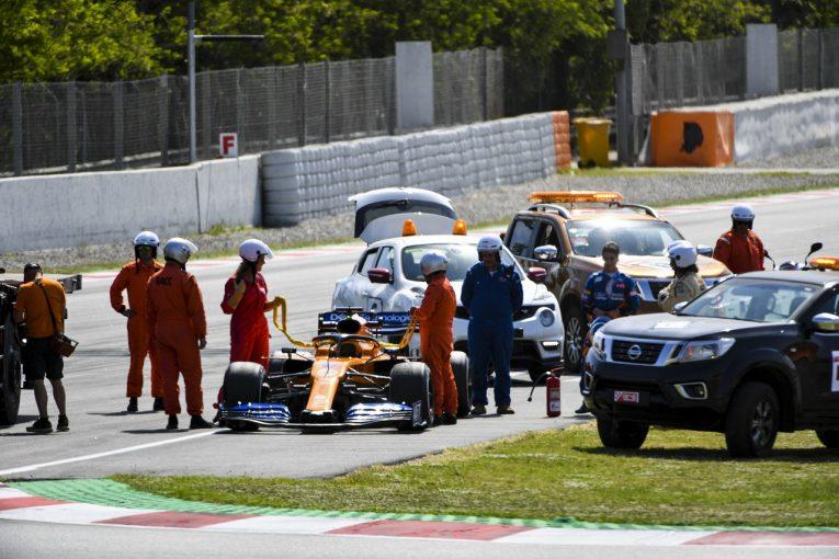F1 | 赤旗相次ぐセッションでメルセデスが最速、トロロッソ・ホンダが2番手に続く/F1バルセロナテスト2日目