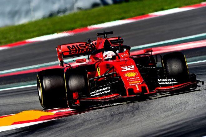 2019年F1バルセロナ・インシーズンテスト2日目 アントニオ・フォコ(フェラーリ)