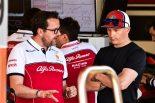 2019年F1バルセロナ・インシーズンテスト2日目 キミ・ライコネン(アルファロメオ)