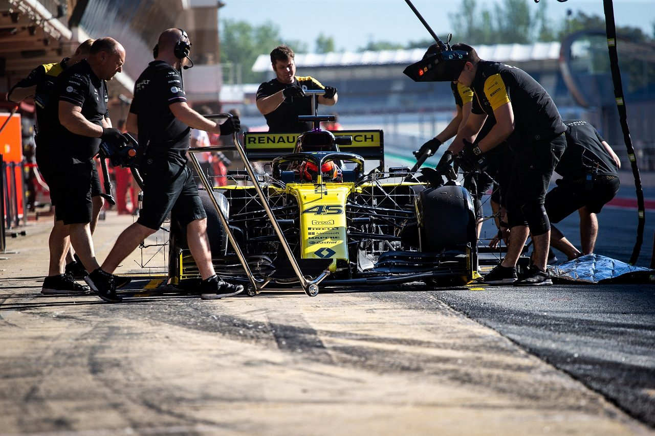 2019年F1バルセロナ・インシーズンテスト2日目 ジャック・エイトケン(ルノー)