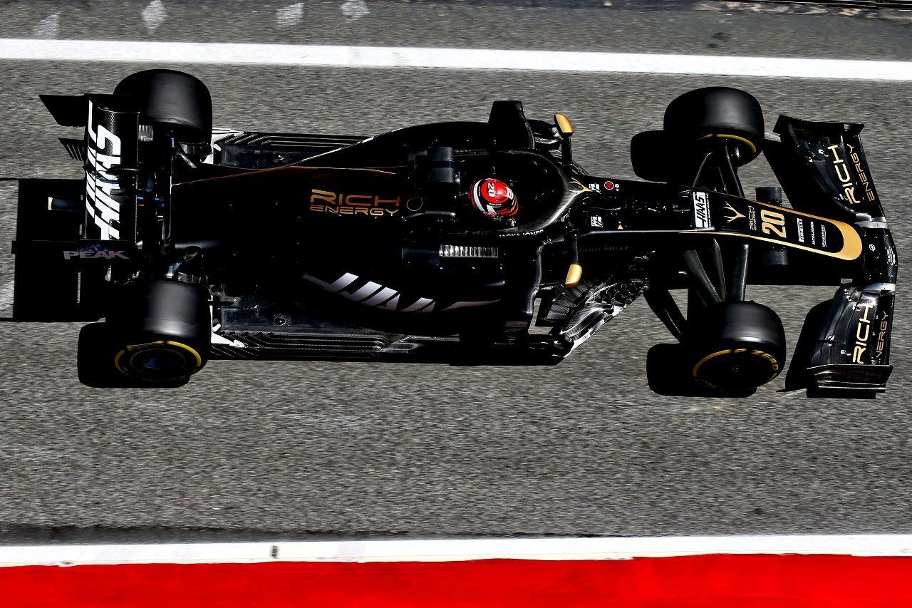 2019年F1バルセロナ・インシーズンテスト2日目 ケビン・マグヌッセン(ハース)
