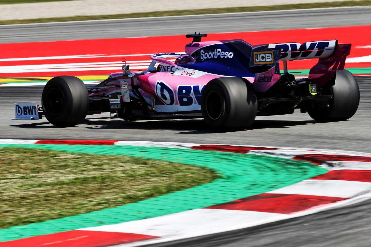 2019年F1バルセロナ・インシーズンテスト2日目 ランス・ストロール(レーシングポイント)