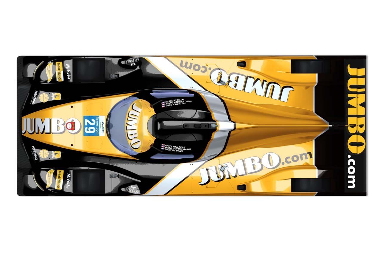 """WEC:""""チーム・オランダ""""が2019/20年体制発表。今季ル・マンではミナルディF1カラーに"""