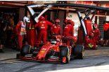 2019年F1第5戦スペインGP セバスチャン・ベッテル(フェラーリ)