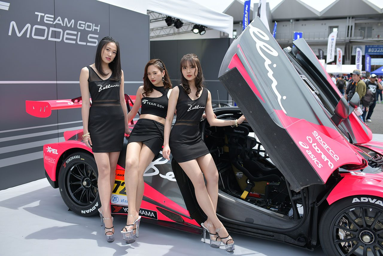 SGT鈴鹿でもフォトコンテスト開催。チームゴウ初のサーキット・アンバサダー「TEAM GOH MODELS」