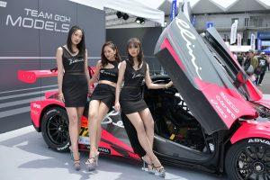 レースクイーン | SGT鈴鹿でもフォトコンテスト開催。チームゴウ初のサーキット・アンバサダー「TEAM GOH MODELS」