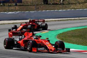 F1 | 2019年F1第5戦スペインGP セバスチャン・ベッテル, シャルル・ルクレール(フェラーリ)