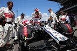 F1 | スペインGPで低迷した原因を探るアルファロメオ。テスト初日のクラッシュを、2日目担当のライコネンが取り戻す