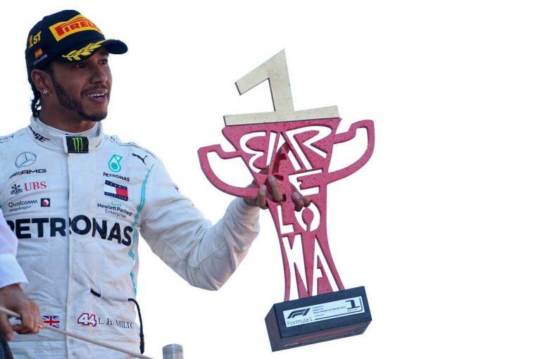 F1   ハミルトン「競争のない今のF1はたしかにつまらないが、メルセデスの責任ではない」