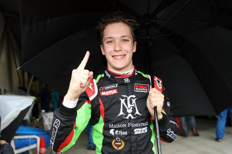 国内レース他 | 全日本F3選手権第3戦/第4戦:荒天のオートポリスでフェネストラズが快走。ダブルポールを獲得