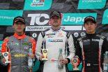 TCRジャパンシリーズ第1戦オートポリス 表彰台