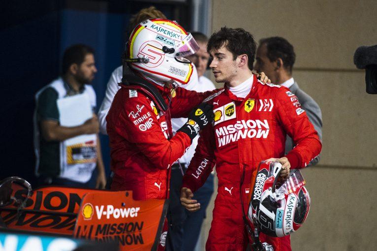 F1   「ベッテルはルクレールとは比べものにならないほど大きなプレッシャーを抱えて戦っている」とクルサード