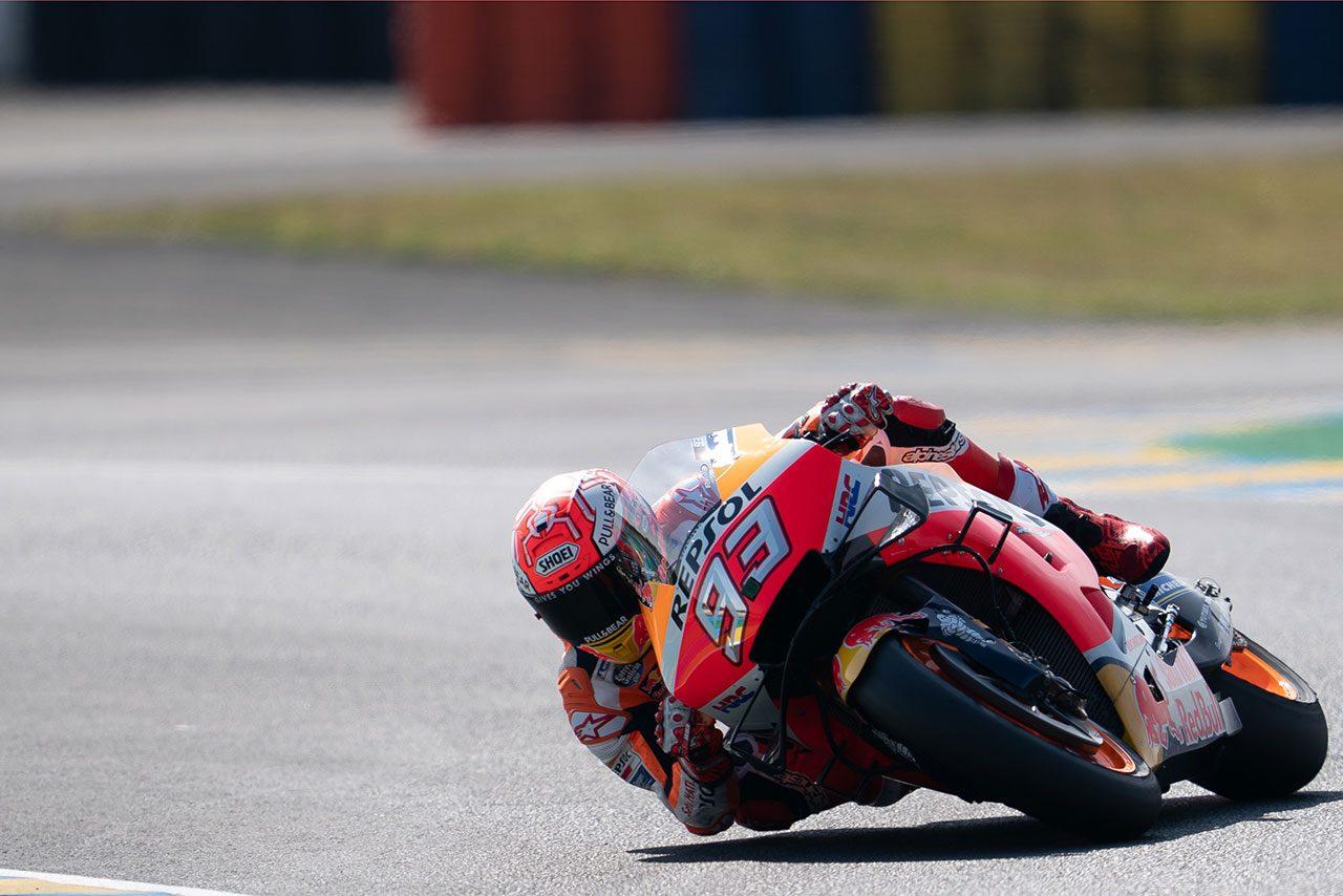 マルケス、転倒しながらもポール獲得/【順位結果】2019MotoGP第5戦フランスGP MotoGPクラス予選