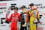 全日本F3選手権第4戦の表彰台