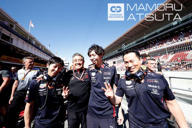 Blog | 【ブログ】Shots!3位表彰台にホンダのみなさんいい笑顔/F1第5戦スペインGP