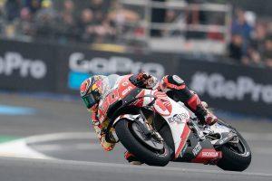 MotoGP | 天候に翻弄されたMotoGPフランスGP予選、転倒を喫したマルケスがポール獲得。中上は自己ベストの7番手