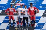 MotoGP | フロントにソフトタイヤを選択したマルケス「今年は違う乗り方ができる」/MotoGP第5戦フランスGP 決勝トップ3コメント