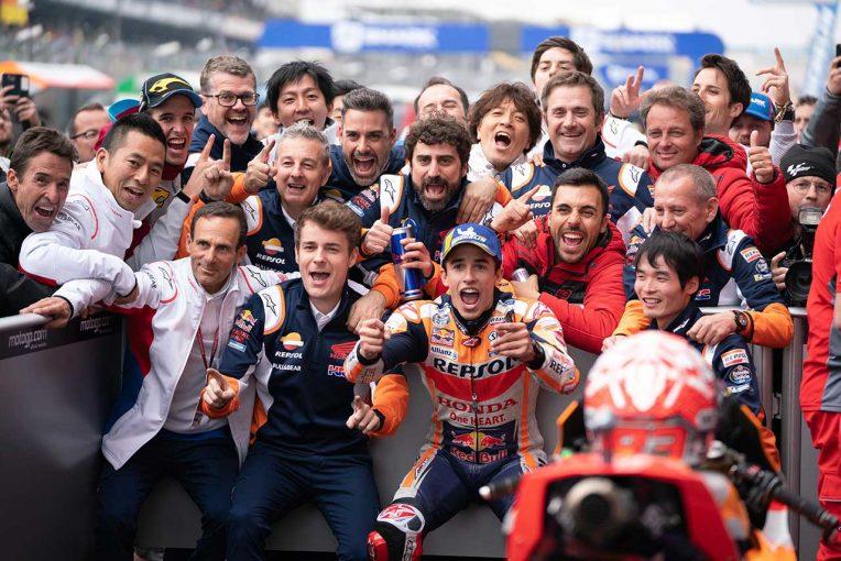 MotoGP | マルケスがドゥカティ勢の追撃を退け、MotoGPフランスGPで今季3勝目。中上は今季初の転倒リタイア