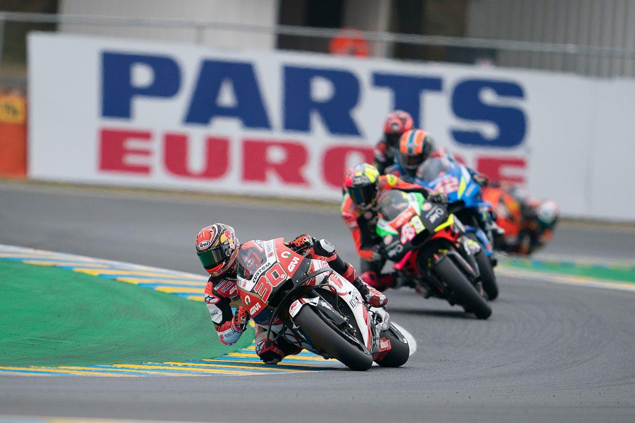 MotoGP第5戦フランスGPで今季初の転倒リタイアを喫した中上「突然フロントが切れ込んだ」