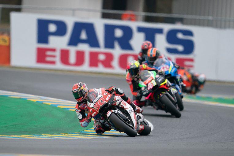 MotoGP | MotoGP第5戦フランスGPで今季初の転倒リタイアを喫した中上「突然フロントが切れ込んだ」