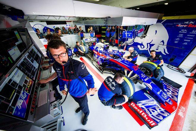 2019年F1第5戦スペインGP アレクサンダー・アルボン(トロロッソ・ホンダ)