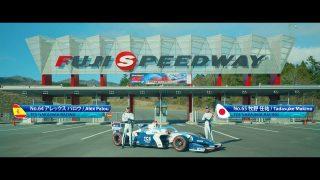 | 【動画】富士スピードウェイを目指してパロウと牧野がバトル!? TCSがショートフィルムを公開