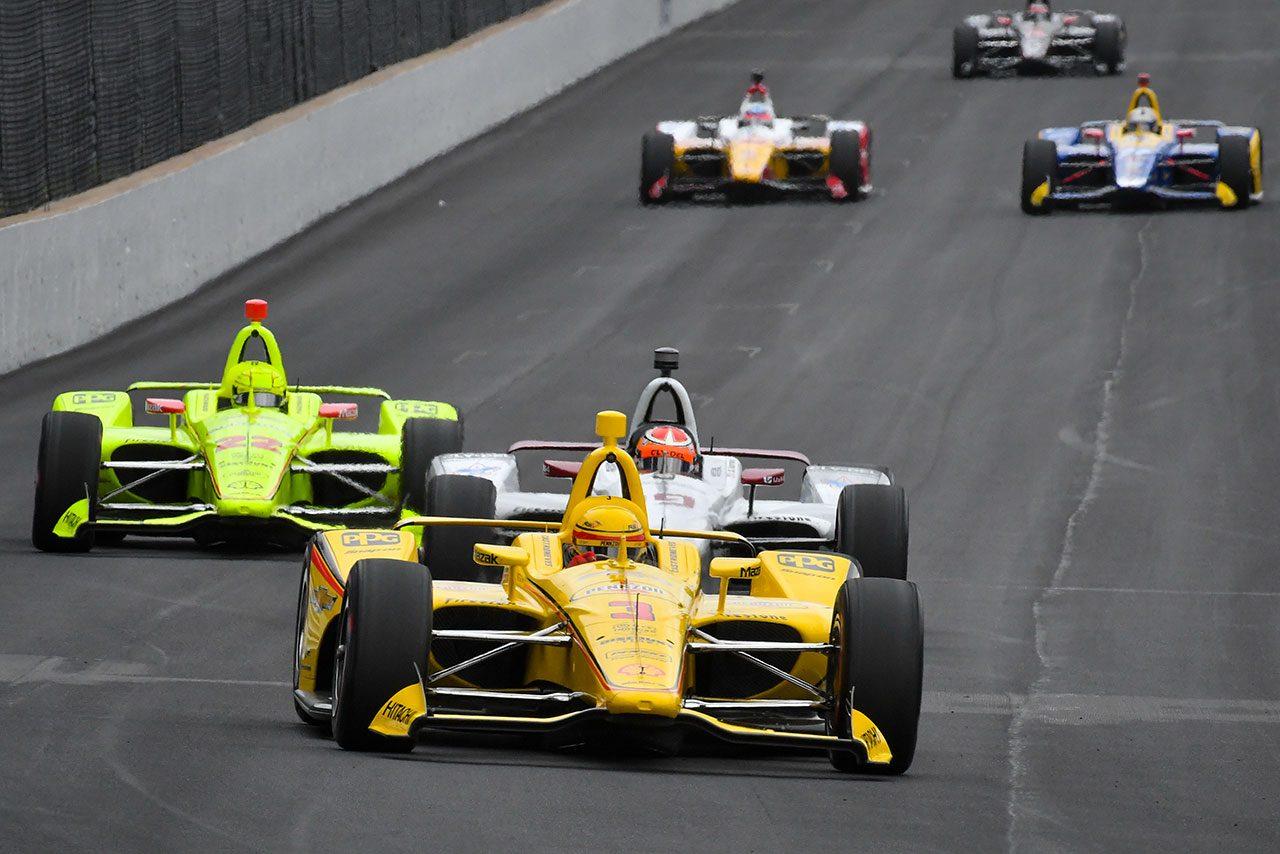 第103回インディ500デイ7:ポール獲得のパジェノーが勢いを持続。琢磨は最多周回を走行しセットアップを進める