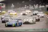 予選レースはウエット路面でスタートが切られたが、すぐにドライコンディションに