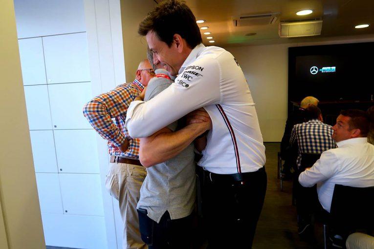 F1   F1 Topic:連勝街道をひた走るメルセデス。強さの秘訣はチームの風通しの良さか