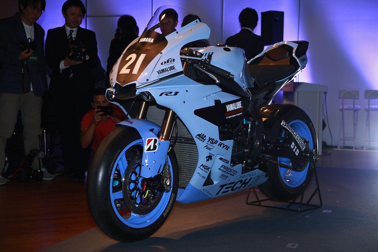 2019年の鈴鹿8耐を戦うヤマハYZF-R1