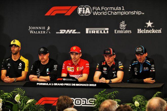 F1   F1モナコGP水曜会見:ハミルトンの代役としてボッタスが出席。「ニキはかけがえのない存在だった」