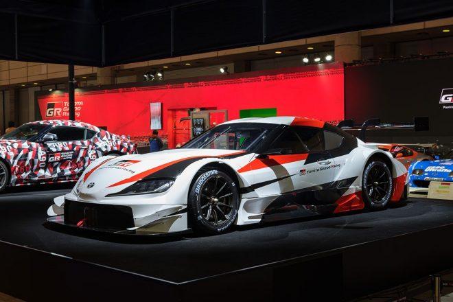 東京オートサロンでのトヨタ・GR・スープラ スーパーGTコンセプト