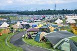 キャンプしながら観戦すれば、富士24時間をさらに満喫できること間違いなし