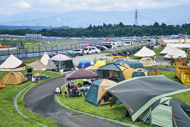 国内レース他 | スーパー耐久第3戦、富士24時間レースでこそキャンプがオススメ。GO OUT WEB鈴木編集長のワンポイントアドバイス