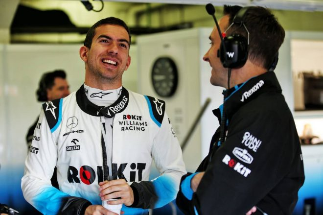 ウイリアムズからF1バルセロナテストに参加したニコラス・ラティフィ