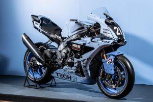 MotoGP | ヤマハテック21チームの復刻カラーをまとったヤマハYZF-R1