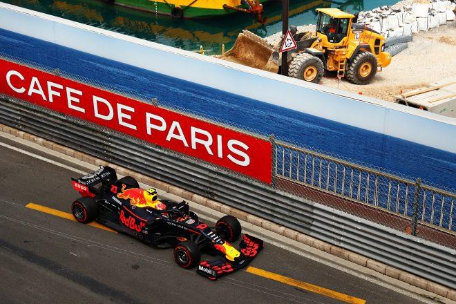 2019年F1第6戦モナコGP ピエール・ガスリー(レッドブル・ホンダ)