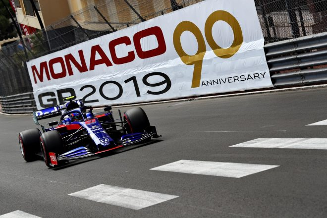 2019年F1第6戦モナコGP アレクサンダー・アルボン(トロロッソ・ホンダ)