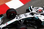 F1 | ハミルトン最速「ドライバーに力を発揮させてくれる、夢のようなマシン」:メルセデス F1モナコGP木曜