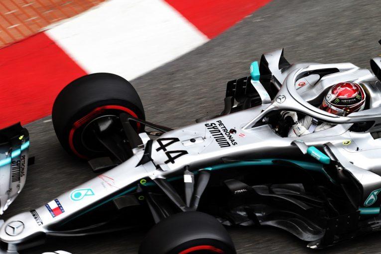 F1   ハミルトン最速「ドライバーに力を発揮させてくれる、夢のようなマシン」:メルセデス F1モナコGP木曜